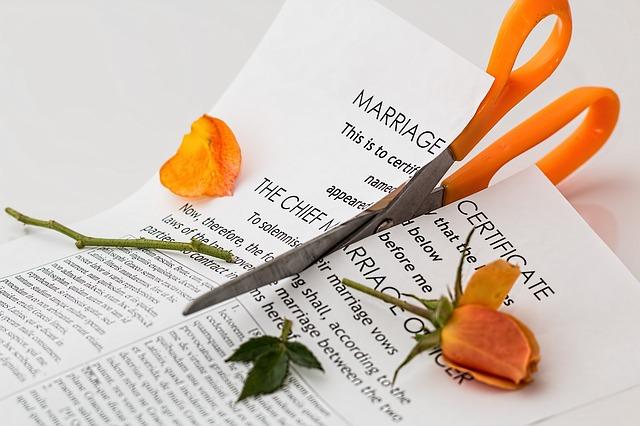 manželství rozpad