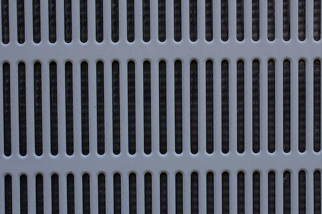 klimatizační mřížka