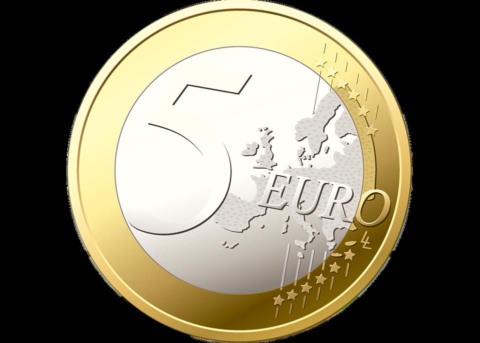 pět eur